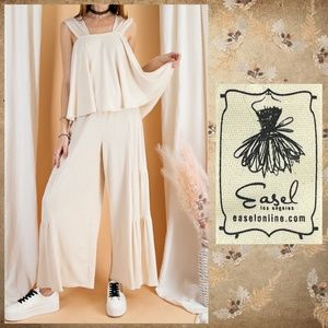 """EASEL """"Summer Together"""" Two Piece Top & Pants Set"""